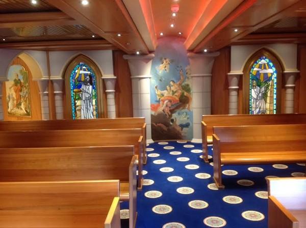 Carnival Legend Chapel