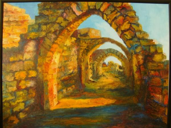 Impressionist Ruins