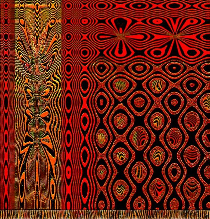 Tapestry. Dragon