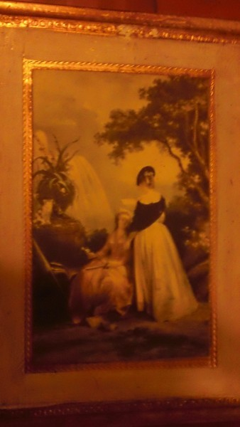 Plaque art sold by Maas bros. date unknown italy