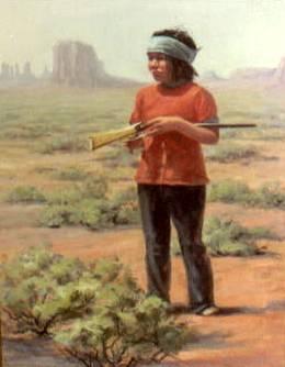 Navajo Hunter