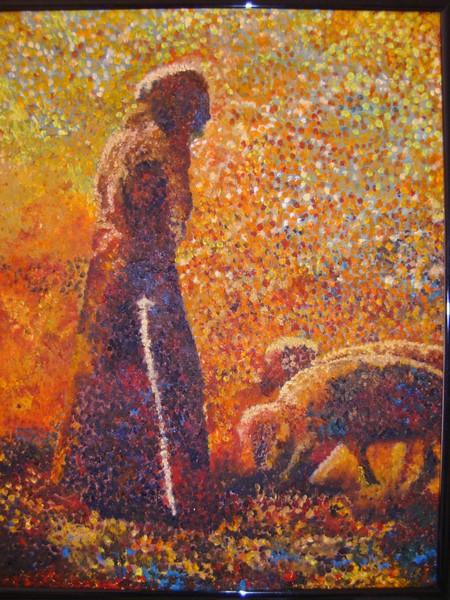 Pointalist Shepherd