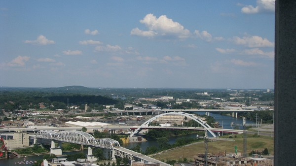 Panoramic view of Downtown Nashville Tennessee