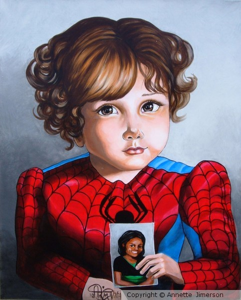Commisioned Portrait of little Boy