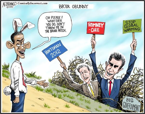 Brier Patch Obama (Cartoon)