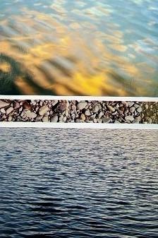 Sunset Rocks River