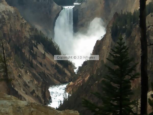 A contemporary Yellowstone Falls 117