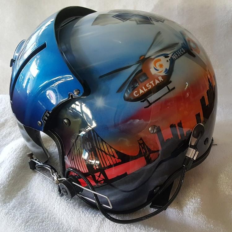 Flight Nurse Helmet