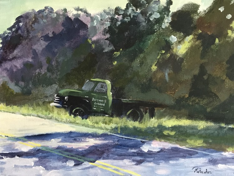 Dearness Gardens truck