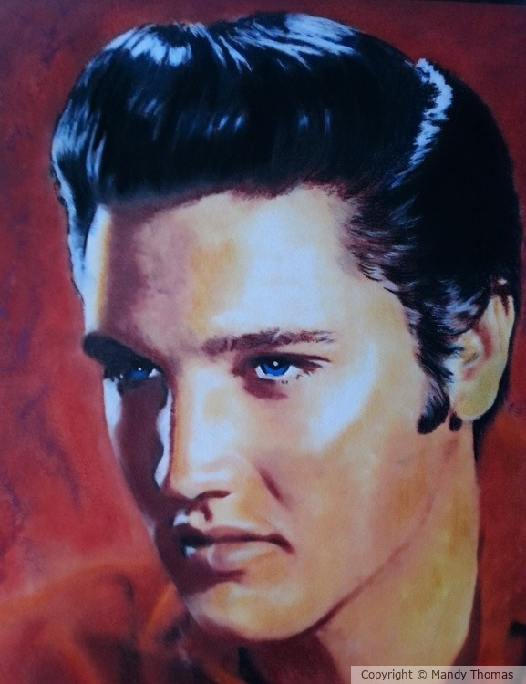 Elvis by Mandy Thomas