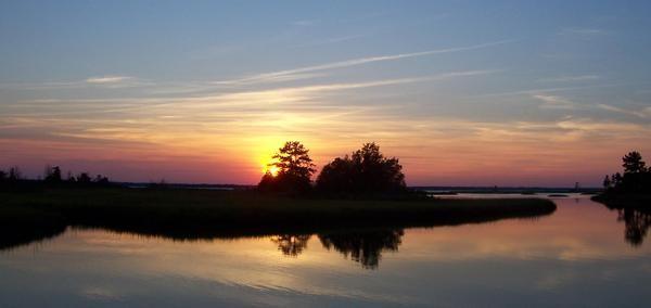 Virgina River Sunset