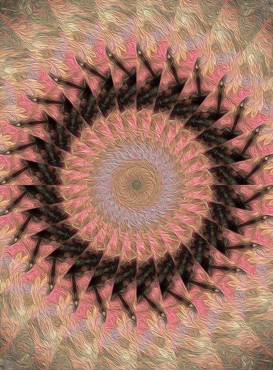 Painted Kaleidoscope 18