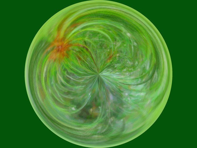 Morphed Art Globe 5