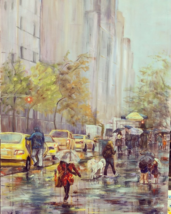 NYC iN THE RAIN