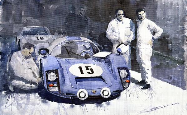 Porsche 906 Daytona 1966 Herrmann-Linge