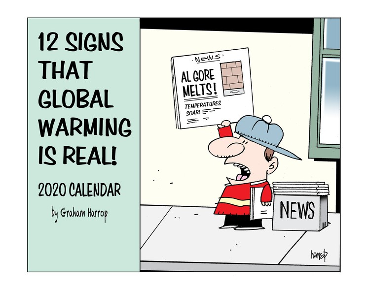 Climate change cartoons