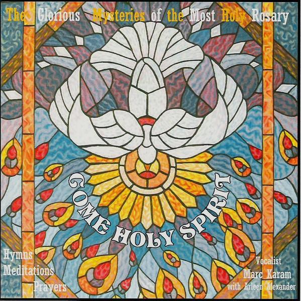 COME HOLY SPIRIT - CD cover