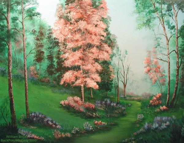 2005-27 Spring Path 36x48c