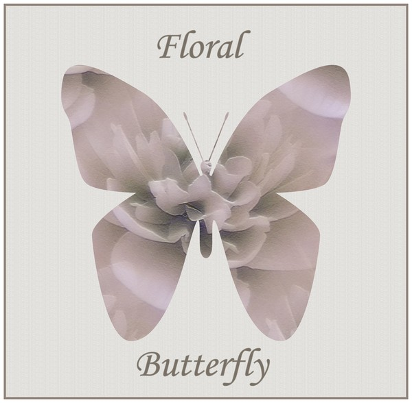 Floral Butterfly (Twp)