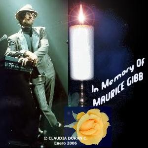 MY PERSONAL TRIBUTE TO MAURICE GIBB