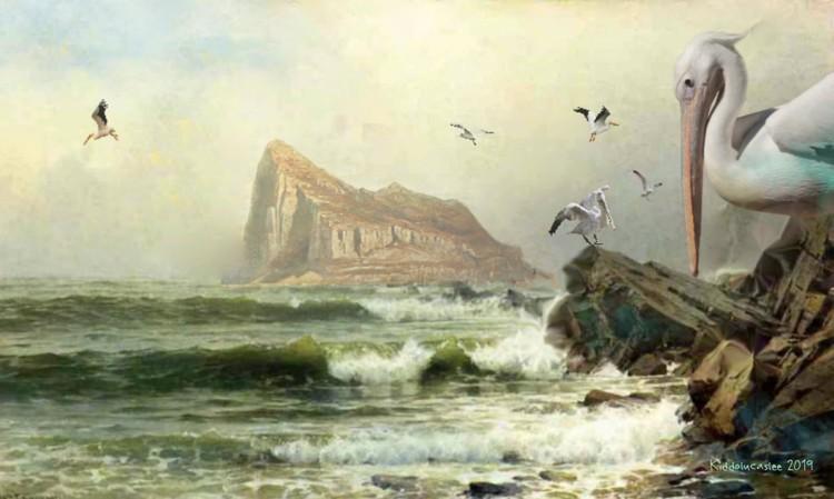 A Huge Rock Called Gibraltar   *  2019 Kiddolucaslee