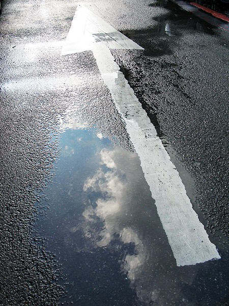 the way after rain