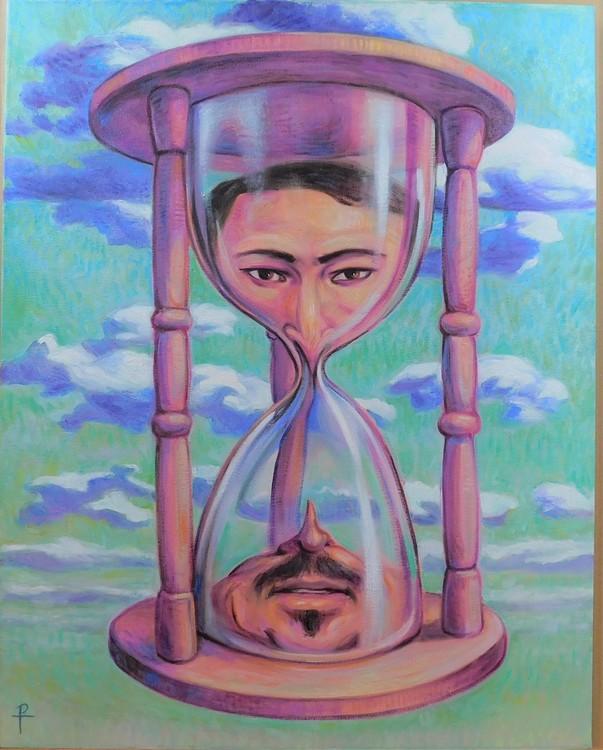 Facing Time 28x22