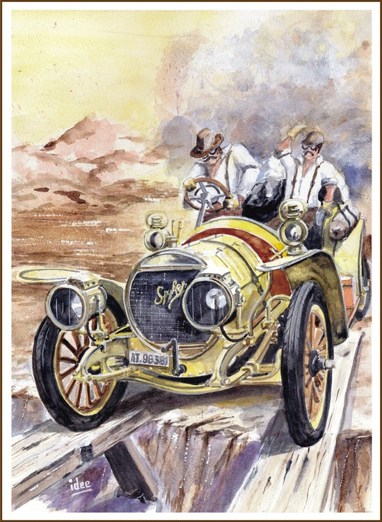 The Incredible Automobile Race of 1907 - 2