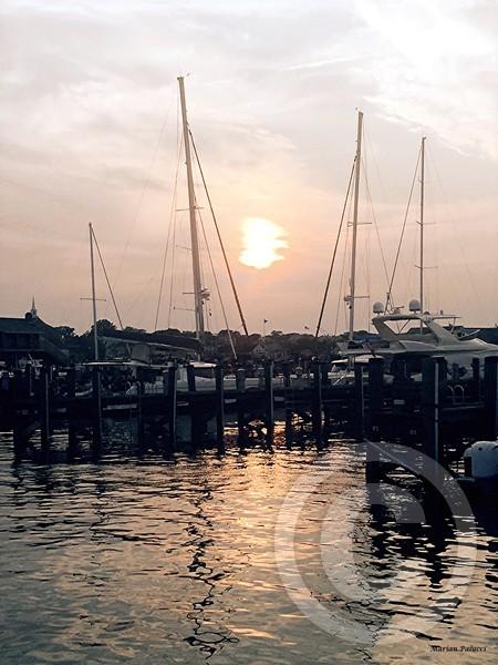 Sunset In Nantucket