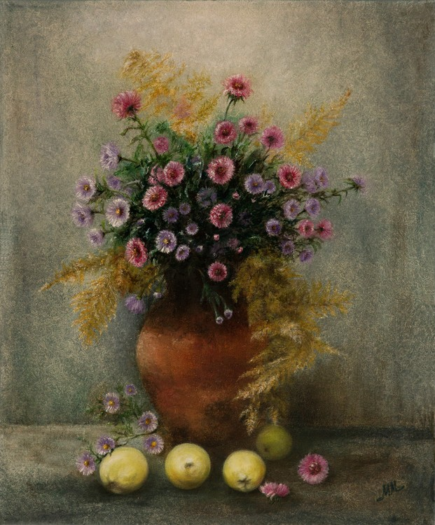 Autumn Bouquet and Apples