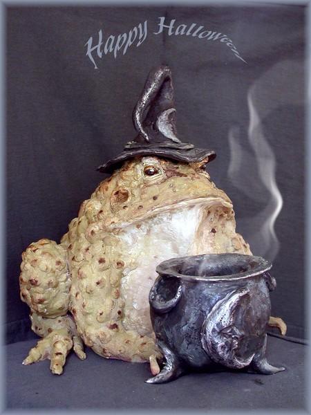 Dawn's Halloween Toad