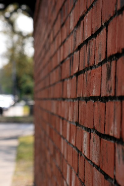 Brick Wall, perspective 1