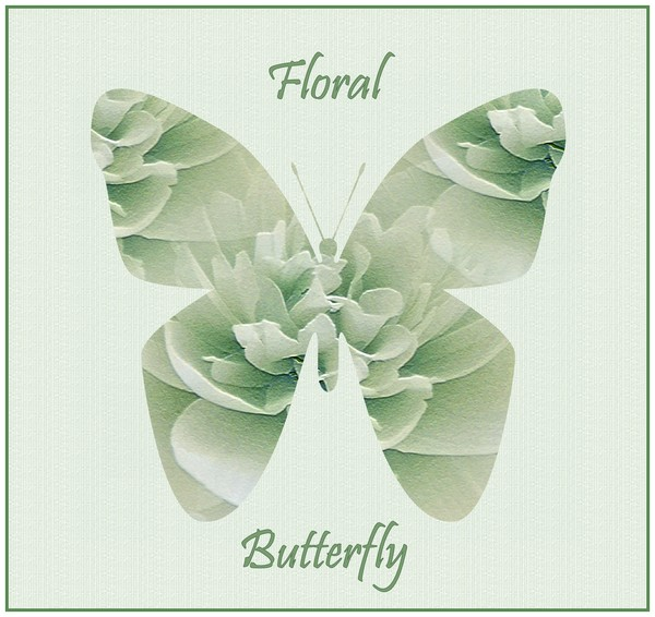 Floral Butterfly (One)