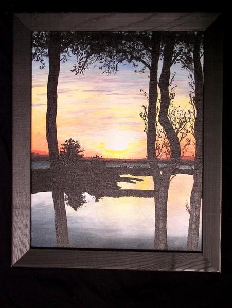 Grandma's sunset II