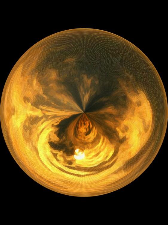 Morphed Art Globe 7