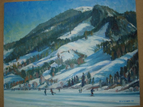 A walk on the ice (Schwarzsee)