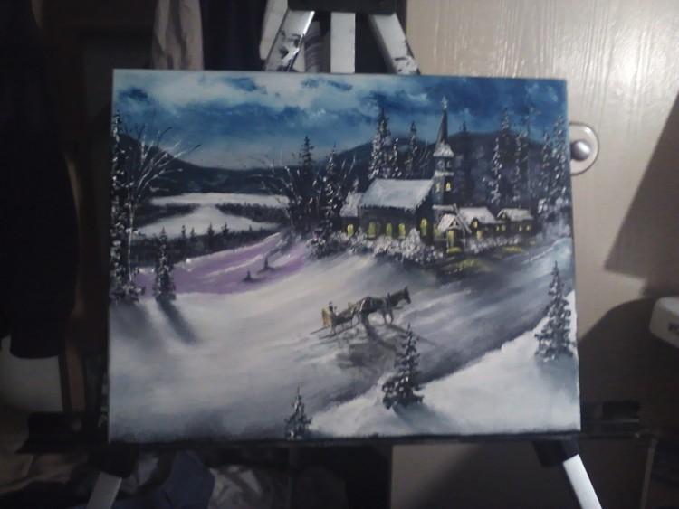A Winter Sleigh Ride