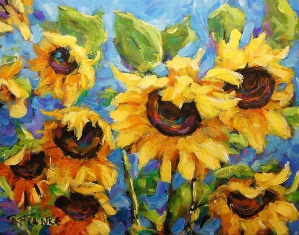 Healing Light of Sunflowers_Sold