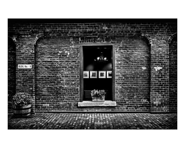 Toronto Distillery District Art Gallery Window