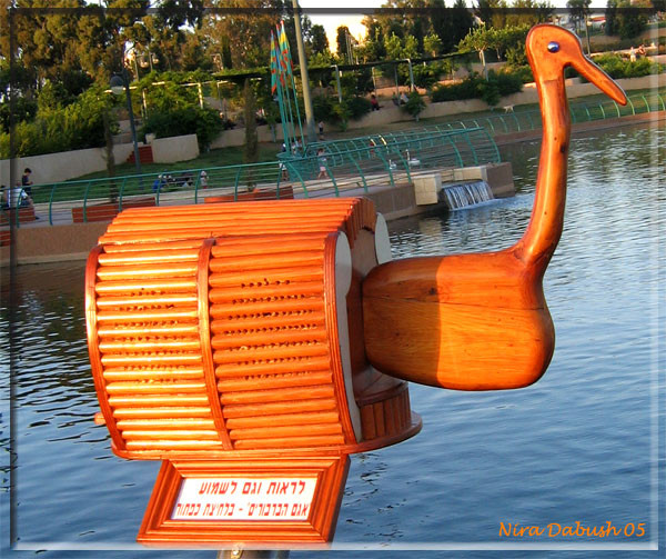 Swan Music Box at The Lake