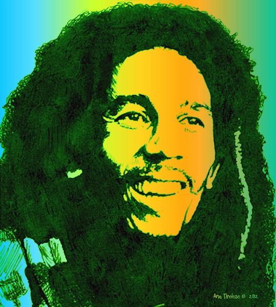 Musician Bob Marley