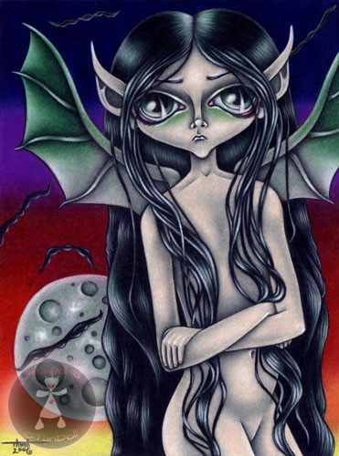 Mistress of the Green Moon