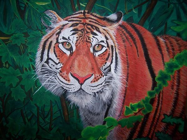 'Tiger, Tiger Burning Bright'