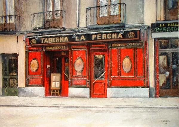 La Percha Tavern-Madrid