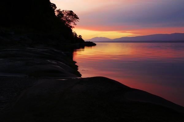 Hornby Island at Sunrise-2
