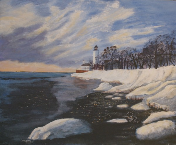 Tibbits Point Lighthouse