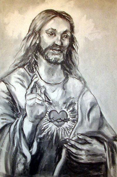 Sacred Heart Jesus Religious Art