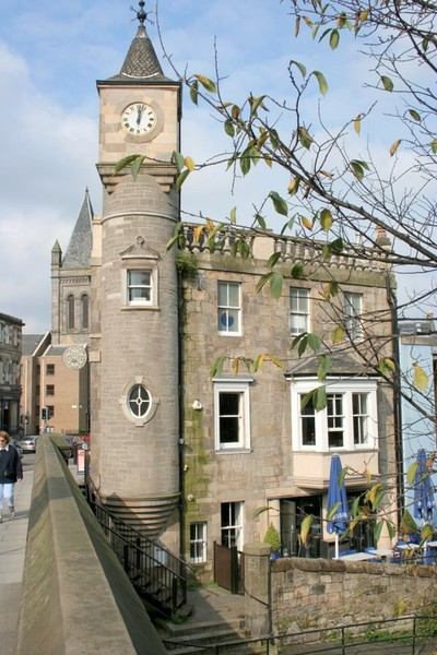 Scotish Clock Tower from 1900