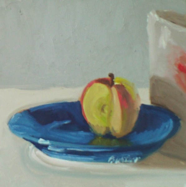 still life(apple)