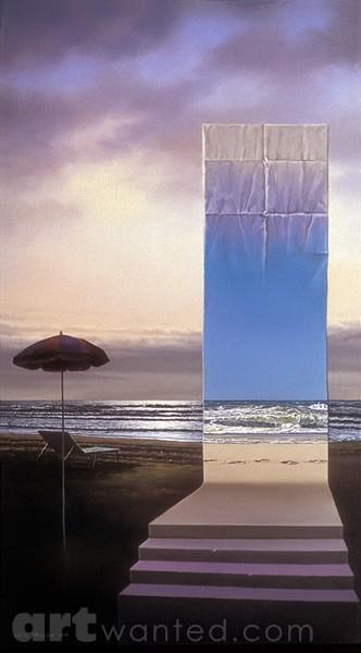 Evening on the beach, 1994